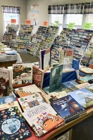 The Wood Acres  Book Fair