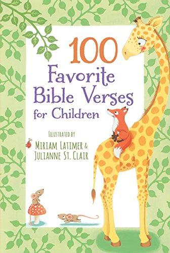 100 FAVORITE BIBLE VERSES FOR CHILDREN