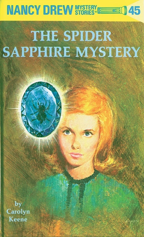 SPIDER SAPPHIRE MYSTERY
