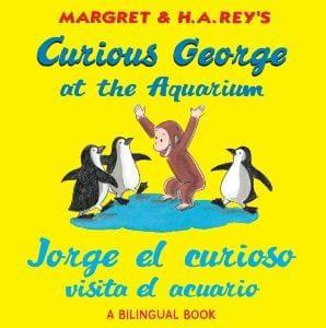 CURIOUS GEORGE AT THE AQUARIUM/ JORGE EL CURIOSO V