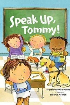 SPEAK UP, TOMMY!