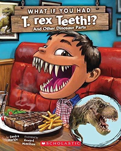 WHAT IF YOU HAD T. REX TEETH!?