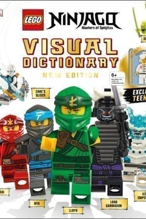 LEGO NINJAGO VISUAL DICTIONARY WITH MINIFIGURE