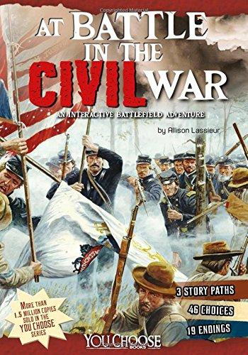 AT BATTLE IN THE CIVIL WAR