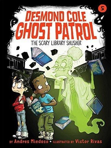 SCARY LIBRARY SHUSHER