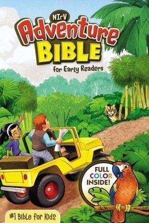 NIV ADVENTURE BOBLE FOR EARLY READERS