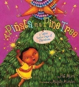 PINATA IN PINE TREE: LATINO 12 DAYS OF CHRISTMAS