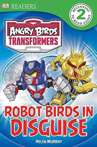 ANGRY BIRDS TRANSFORMERS;ROBOT BIRDS IN DISGUISE
