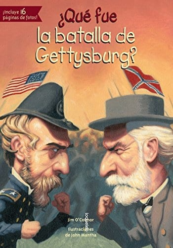 WHAT WAS BATTLE OF GETTYSBURG? (Spanish Edition)