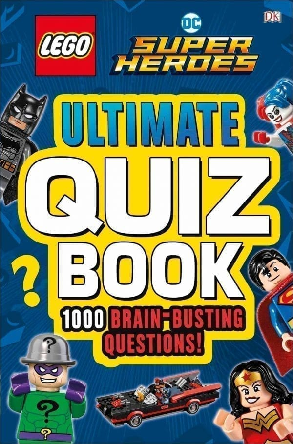 LEGO DC SUPER HEROES ULTIMATE QUIZ BOOK