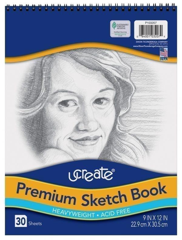 Sketch Book Ucreate 9x12