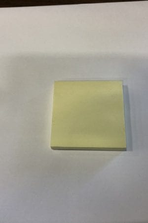 Sticky Notes Single Pad